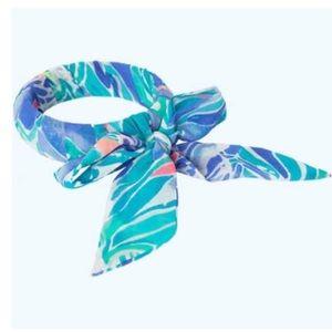 NWT Lilly Pulitzer Chiffon wrapped bangle